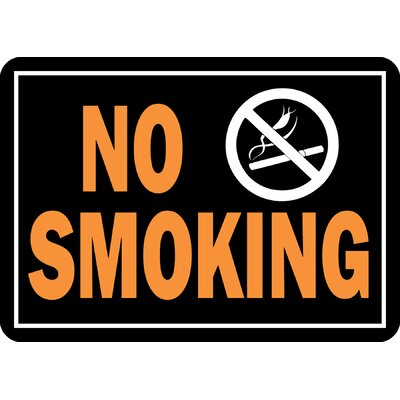 No Smoking Sign (Set of 12)