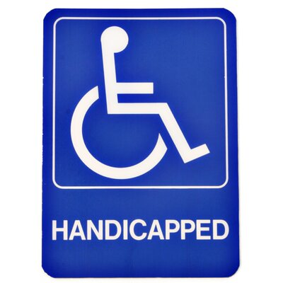 Handicapped Deco Sign (Set of 5)