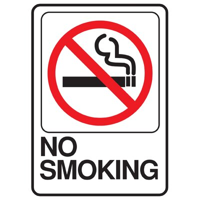 No Smoking Sign (Set of 5)