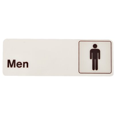 Men Bathroom Sign (Set of 5)