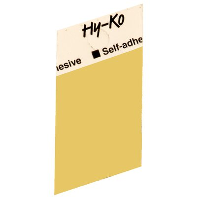 Self Adhesive Blank Symbol (Set of 10)
