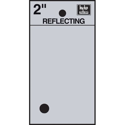 Self Stick Reflective Period Symbol (Set of 10)