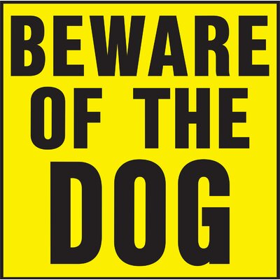 Beware of Dog Sign (Set of 20)