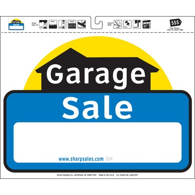 20 x 24 Garage Sale Sign (Set of 3)
