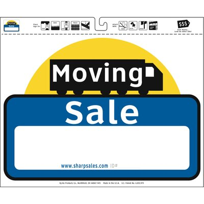20 x 24 Moving Sale Sign (Set of 3)