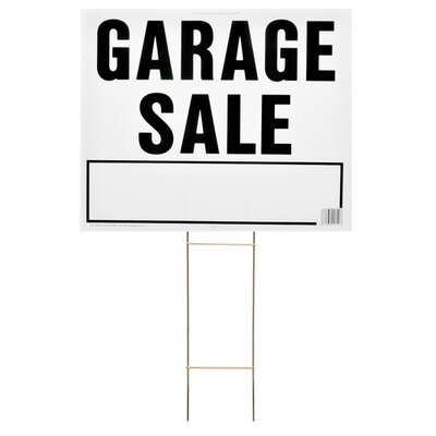 20 x 24 Garage Sale Lawn Sign