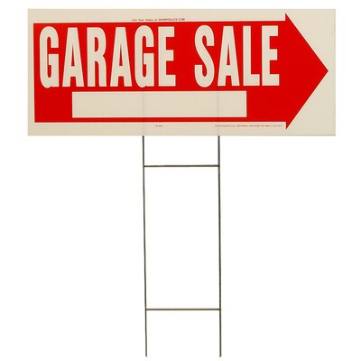 10 x 24 Garage Sale Sign (Set of 5)