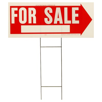 10 x 24 For Sale Sign