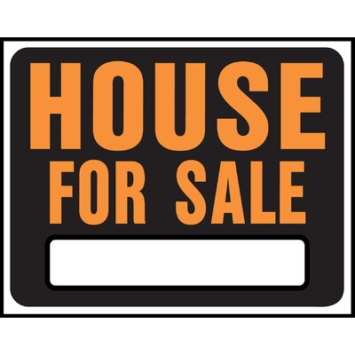 15 x 19 Plastic House For Sale Sign (Set of 5)