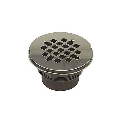 4.25 Grid Shower Drain