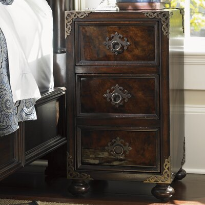 Island Traditions 3 Drawer Nightstand