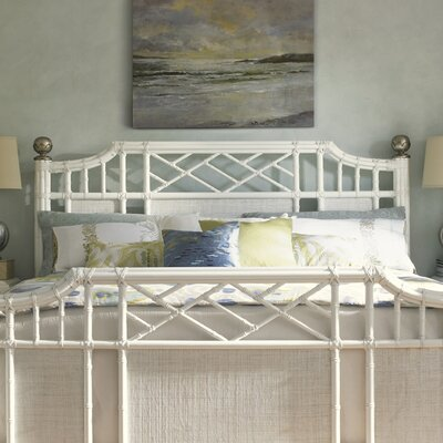Ivory Key Open-Frame Headboard Size: King