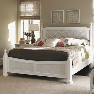 Ivory Key Canopy Bed Size: Queen