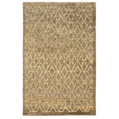 Tommy Bahama Ansley Taupe / Beige Geometric Rug Rug Size: Runner 26 x 10