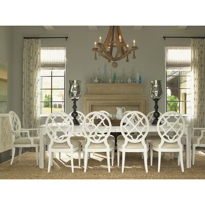 Ivory Key 11 Piece Dining Set