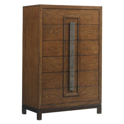 Island Fusion Java 6 Drawer Chest