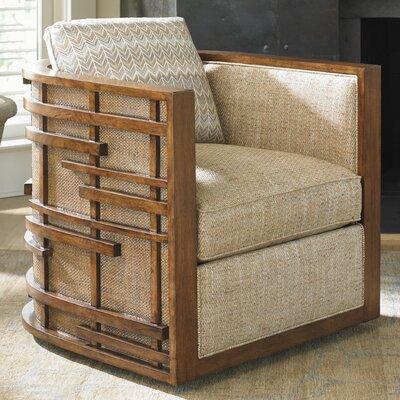 Island Fusion Semerang Armchair Upholstery: Tan