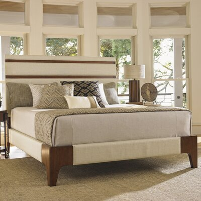 Island Fusion Upholstered Panel Bed Size: California King