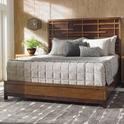 Island Fusion Panel Bed Size: King