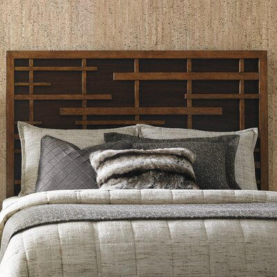 Island Fusion Shanghai Panel Headboard Size: King