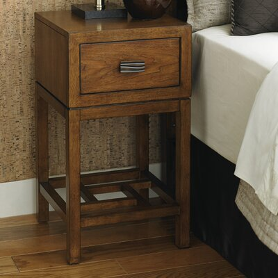 Island Fusion 1 Drawer Nightstand