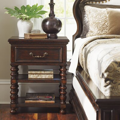 Kilimanjaro Christiana 1 Drawer Nightstand