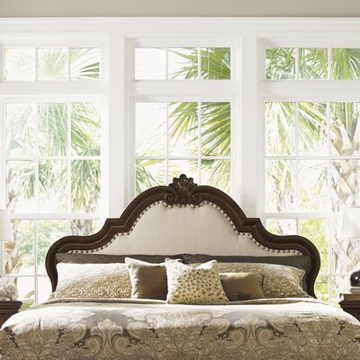Kilimanjaro Barcelona Upholstered Panel Headboard Size: King