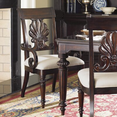 Island Traditions Chester Carved Solid Wood Dining Chair