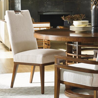 Island Fusion Coles Bay Side Chair Upholstery: White