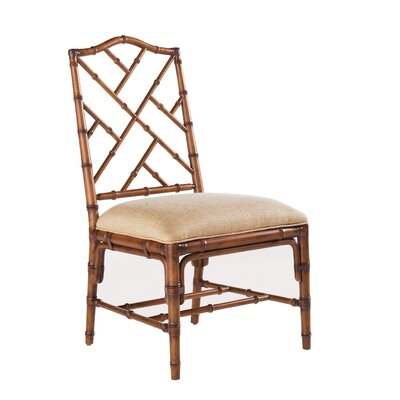 Island Estate Ceylon Side Chair (Set of 2) Finish: Plantation