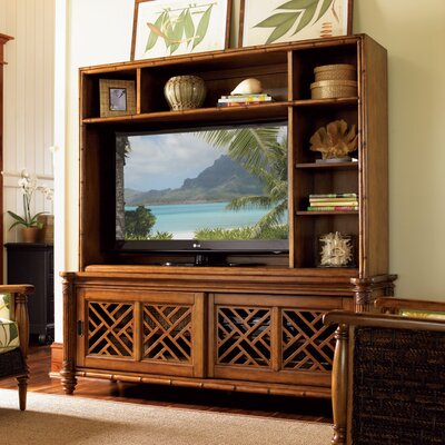 Island Estate Nevis Entertainment Center with Hutch