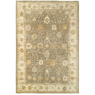 Palace Hand-Knotted Brown/Beige Area Rug Rug Size: 8 x 10
