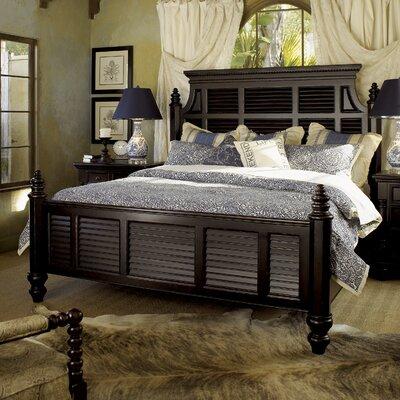 Kingstown Panel Bed Size: California King