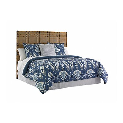 Twin Palms Panel Headboard Size: King