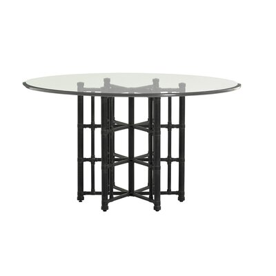 Twin Palms Dining Table Size: 29.5 H x 60 W x 60 D
