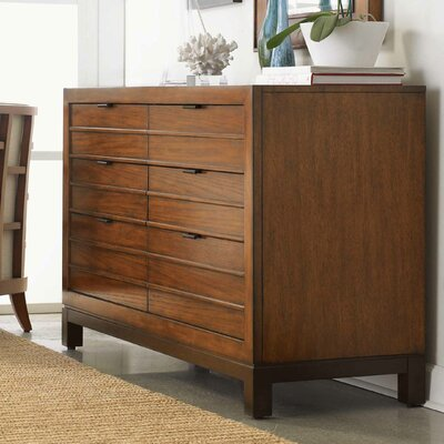 Ocean Club Palm Bay 6 Drawer Double Dresser