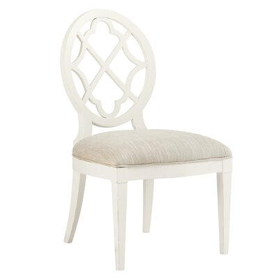 Ivory Key Side Chair