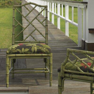 Island Estate Ceylon Side Chair (Set of 2) Finish: Cilantro