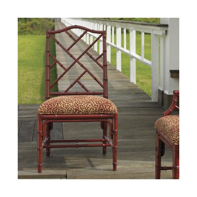 Island Estate Ceylon Side Chair (Set of 2) Finish: Sangria