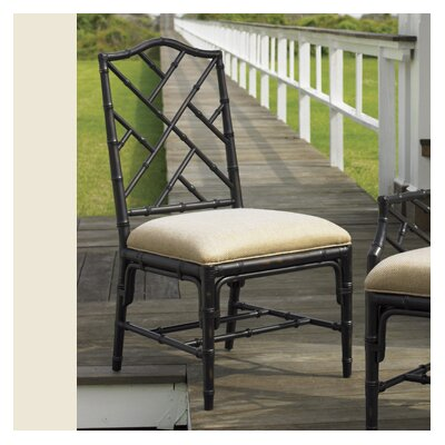 Island Estate Ceylon Side Chair (Set of 2) Finish: Noche