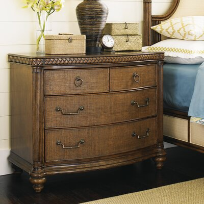 Bali Hai 4 Drawer Nightstand