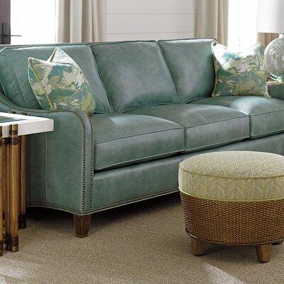 Twin Palms Leather Sofa