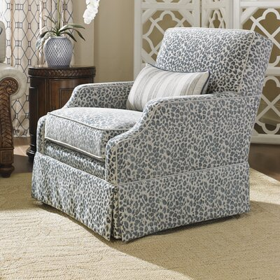 Bali Hai Courtney Swivel Armchair