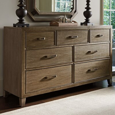 Cypress Point 7 Drawer Standard Dresser