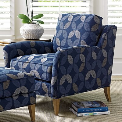Twin Palms Coconut Grove Armchair and Ottoman