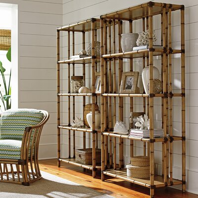 Palms Seven Seas Etagere Bookcase Twin Product Picture 259
