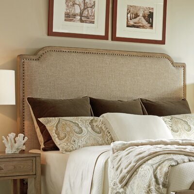 Cypress Point Upholstered Panel Headboard Size: Queen