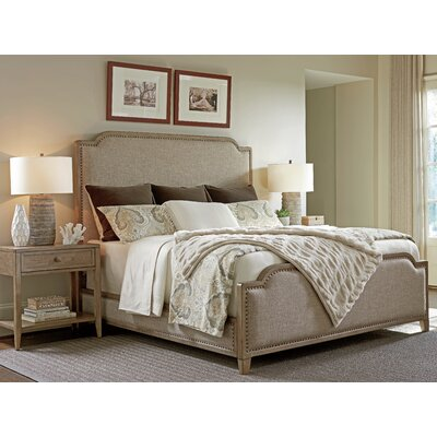 Cypress Point Upholstered Panel Bed Size: King