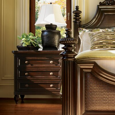 Tommy Bahama Home Royal Kahala Four Poster Harbour Point Bed | Wayfair