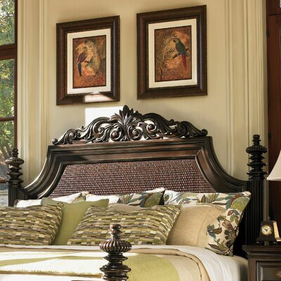 Royal Kahala Panel Headboard Size: King